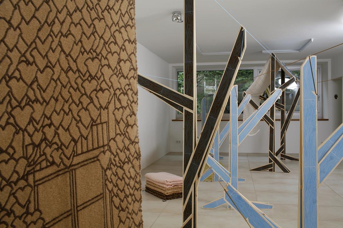 Martin Rinderknecht – design consulting, Installation view, «WashHouse» exhibition