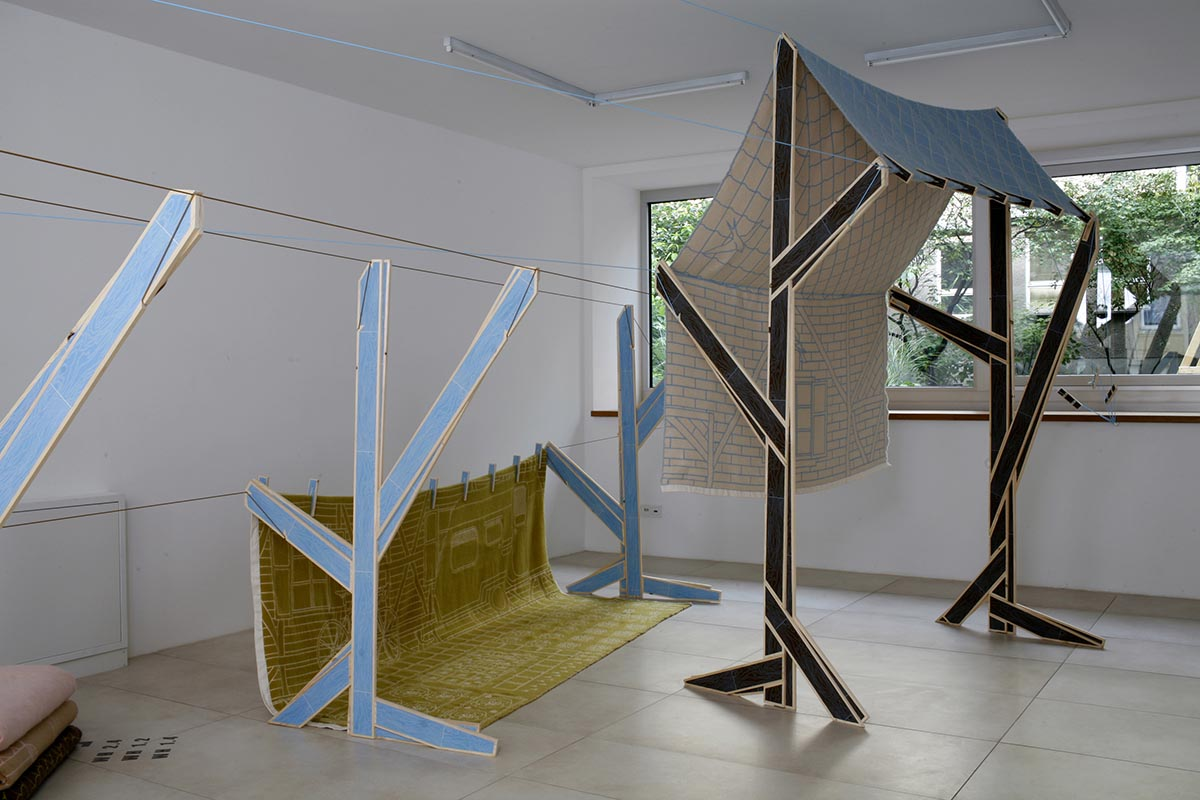 Martin Rinderknecht – design consulting, Installation view, «WashHouse» exhibition